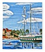 St Lawrence Waterway 1000 Islands Fleece Blanket