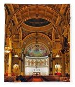 St. Leonard's Church....boston Fleece Blanket