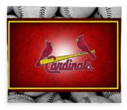 St Louis Cardinals Fleece Blanket