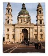 St Stephen's Basilica In Budapest Fleece Blanket