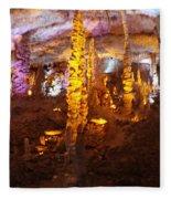 Stalactite Cave Fleece Blanket
