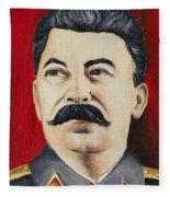 Stalin Fleece Blanket