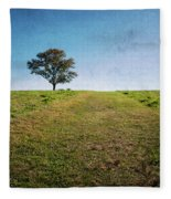 Stands Alone Fleece Blanket