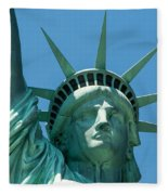 Statue Of Liberty Fleece Blanket