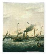 Steamship Fleece Blanket