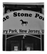 Stone Pony Fleece Blanket
