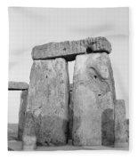 Stonehenge Fleece Blanket