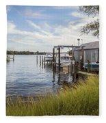 Stoney Creek Marina Fleece Blanket