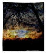 Stormy Weather Fleece Blanket