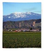Strawberry Field Fleece Blanket