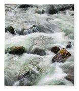 Stream Great Smoky Mountains  Fleece Blanket