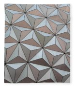 Sub Triangles Fleece Blanket