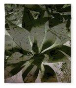 Succulent Fleece Blanket