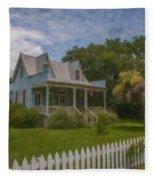 Sullivan's Island House Fleece Blanket