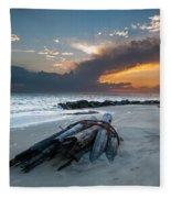Sullivan's Island Sunset Fleece Blanket