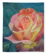 Summer Bloom 1 Fleece Blanket
