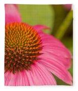 Summer Cone Fleece Blanket