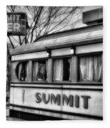 Summit Diner Fleece Blanket