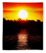 Sun 3 Fleece Blanket