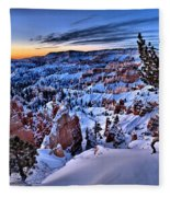 Sunrise At Bryce Fleece Blanket