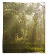 Sunshine Morning Fleece Blanket