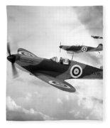Supermarine Spitfire Mk I Fleece Blanket