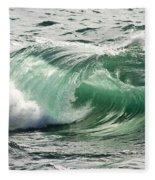 Surf Zone At The Barents Sea Coast Fleece Blanket
