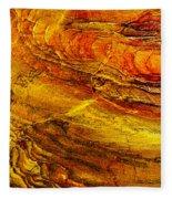 Sweet Potato Pie  Rock In Petra-jordan Fleece Blanket