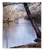 Take Me To The River Fleece Blanket
