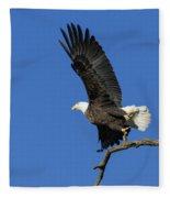 Take Off 2 Fleece Blanket