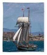 Tall Ship Alicante Fleece Blanket