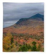 Tapestry Of Fall Colors Fleece Blanket