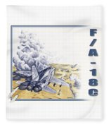 Target Sam Site Fleece Blanket