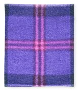 Tartan Pattern Fleece Blanket