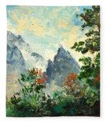 Tatry Mountains- Poland Fleece Blanket