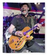 Ted Nugent Fleece Blanket