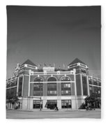 Texas Rangers Ballpark In Arlington Fleece Blanket