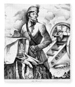 Thaddeus Kosciusko Fleece Blanket