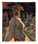 Thai Ridgeback Art Canvas Print Fleece Blanket