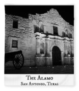 The Alamo Fleece Blanket