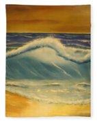 The Big Wave Fleece Blanket