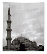 The Blue Mosque Fleece Blanket