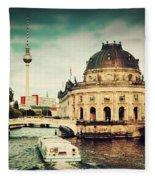 The Bode Museum Berlin Germany Fleece Blanket