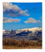 The Butte Fleece Blanket
