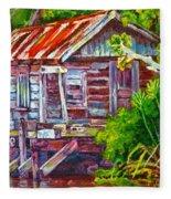 The Camp Bayou Fleece Blanket