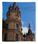 The Castle Of Schwerin Fleece Blanket