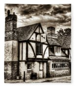 The Cross Keys Pub Dagenham Fleece Blanket