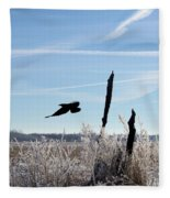 The Crow Fleece Blanket