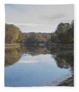 The Erie Canal  Fleece Blanket