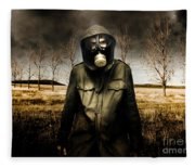 The Fall Of War Fleece Blanket